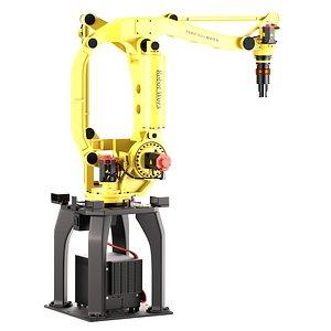 3D Industrial Robot Fanuc M 410B