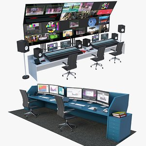 3D Control Panels Collection