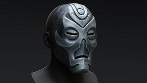 3D Skyrim Dragon Priest Mask - Morokei model