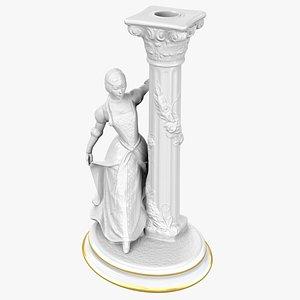 Candlestick Holder 3D model
