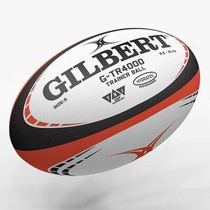 Rugby Ball Gilbert L1482 3D model