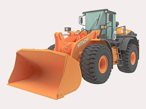 3D Hitachi ZW310-
