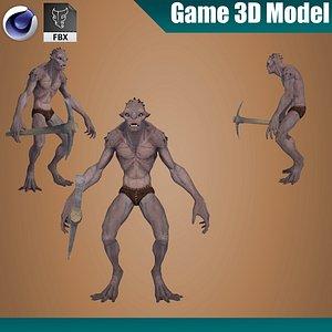 old goblin thief 3D