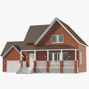Classic House 03 3D model
