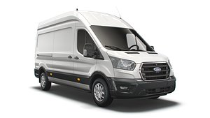 3D Ford Transit Van L3H3 Trend 2021