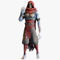 Skeleton Game Character - Realtime Model