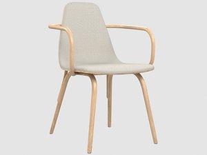 tram chair 3D model
