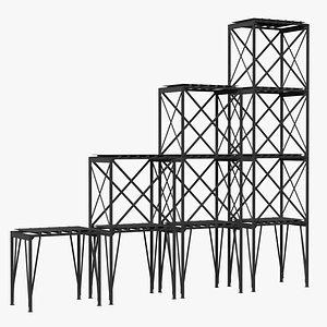 3D scaffolding construction