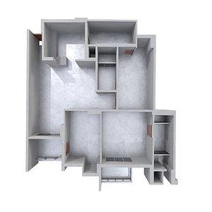 3D model Floor Plan 03
