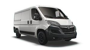 3D Opel Movano Van L2H1 2022 model