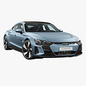 2022 Audi e-tron GT model