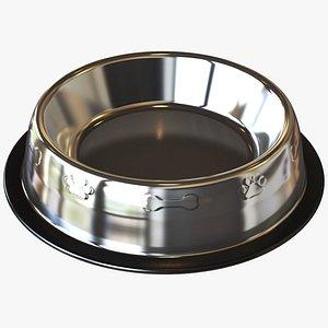Metal Pet Bowl 3D model