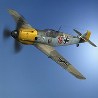 Messerschmitt - BF-109 E - Red 16
