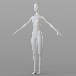 Stylised Female Base model