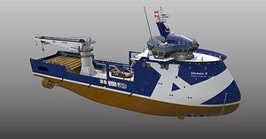 ship step model