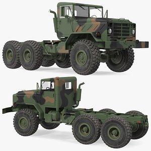 3D M939 Military Truck Green