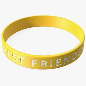 Friendship Rubber Band 3D model