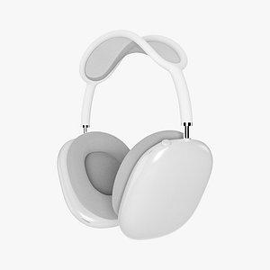 - apple headphones airpods 3D model