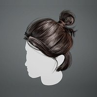 Real-time Female Hair for Games