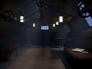 old attic 3D model