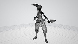 akali 3D model