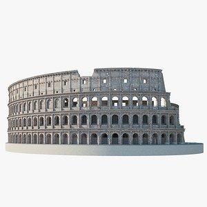 colosseum arena architecture 3D model