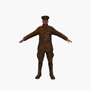 3D soldier bel