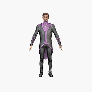 3D Alonso Cartoon Man model