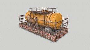 Industrial Tank and Platform model