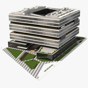 3D samsung america headquarters model