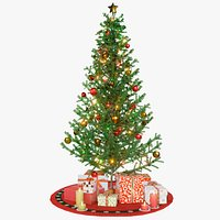 Christmas Tree GameReady LODs