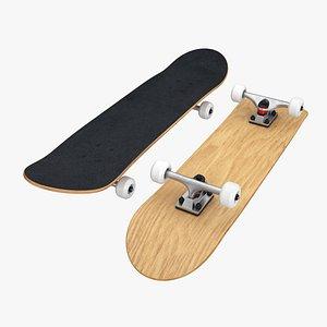 3D skateboard skate