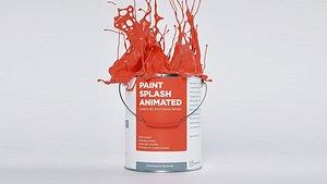 Paint Splash Animated