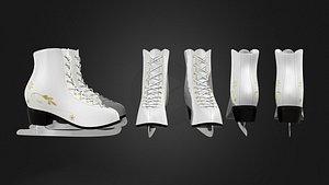 3D ice skates