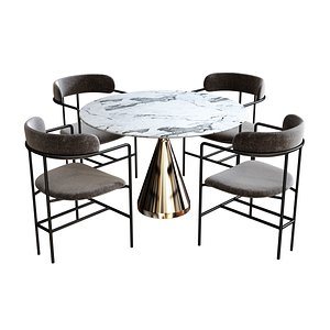 set dining 3D model