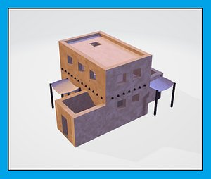 3D house mesopotamia