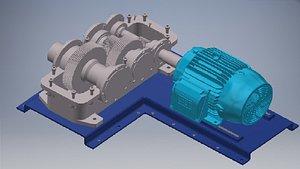 gearmoto 3D model