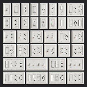 3D model sockets franklin