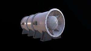 3D Ventilation Fan