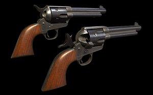 Colt Single Action Army 3D model