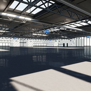 Warehouse 001 UE4