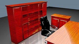 OFFICE ROOM SET 3D model