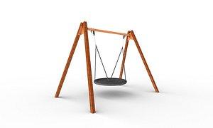 3D circle swing