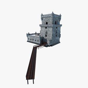 3D model belem tower