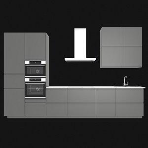 voxtorp kitchen 3D