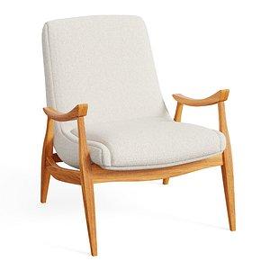 3D Marni Chair model