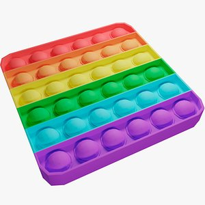 3D Pop It Antistress Toy