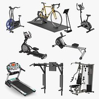 Exercise Equipment Collection 4