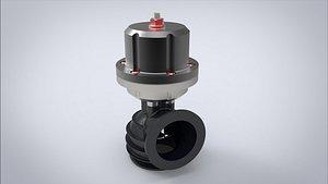 3D valve turbocharged