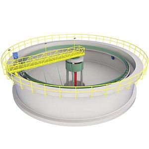 3D Water Treatment Plant 1